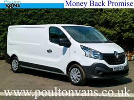2015 (65) RENAULT TRAFIC LL29 BUSINESS L2H1 LWB LOW ROOF PANEL VAN 1.6DCI,115BHP