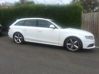 2009 AUDI A4 2.0 TDI S LINE AVANT ESTATE ONLY 38000 MILES FSH 1 PREVIOUS OWNER MINT