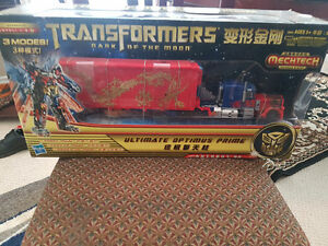 Transformers DOTM Optimus Prime year of the dragon Mechtech