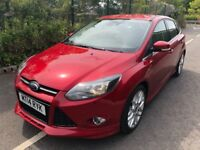 Ford Focus Zetec 1.6 TDCi 115 PS Good / Bad Credit Car Finance (red) 2014