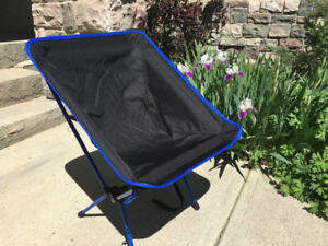 Folding Camping Chairs, 250 lb Adult Size