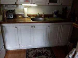 We're renovating!  Upper and lower kitchen cabinets for sale .