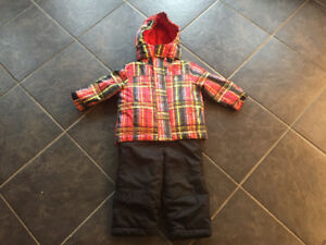 Boys 12-18 month snowsuit (jacket never worn)
