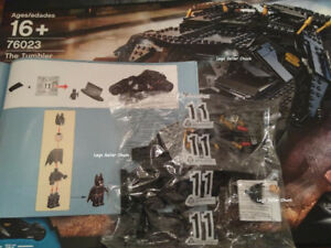 LEGO 76023 UCS Christian Bale Batman, HugeTires, Tumbler Manuals