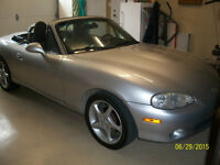 2003 Mazda MAZDASPEED MX-5 Miata 2 door conv Convertible