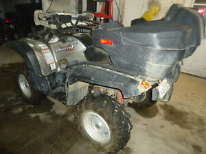 yamaha grizzly 700cc efi special edition power sterring