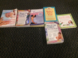 Pregnancy books - what to expect and the first year.
