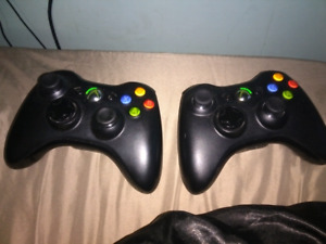 Xbox 360 controller's 20$ each or 35$ both
