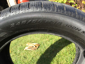 Pirelli P-Soto RUN FLAT Winter Tires - 4 West Island Greater Montréal image 1