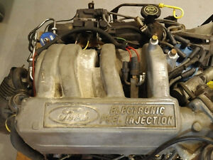 Ford 302 EFI Engine with ZF205 Transmission and BW1356 TransCase