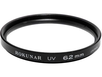 62mm. filtro UV Rokunar. Ultra Violet filter.