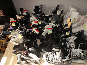 30 Different sized Girls - Boys & Youth Skates All Sizes London Ontario image 3