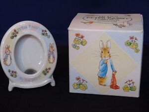 "Wedgwood Collection, Peter Rabbit ""My First Picture"" frame."