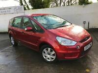 Ford 2007 S-MAX 1.8 TDCi Diesel Manual MPV in Red