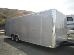 New Continental Cargo 8.5 x 24 Charcoal Cargo Trailer