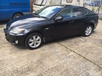 Lexus IS220d 57 plate, black Diesel Good condition HPI Clear
