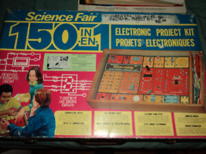 150 in One Science Fair Electronic Kit