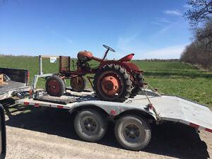 2 Massey Harris tractors