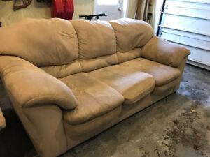 Sofa and Chair Set - Super Comfy!