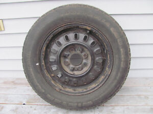 one steel 14 inch , 4 bolt hole rim for Ford Tempo $25