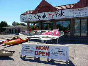 Supplemental income opportunity -Kayak Sales/Rentals - North Bay