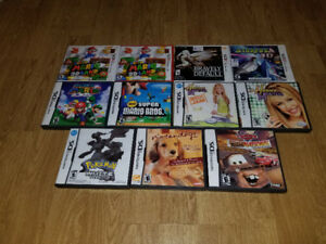 Variety of Advance, DS, and 3DS Games For Sale