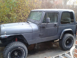 Jeep YJ wiith sbc 350 engine (GOPER DUNES IS COMING!)