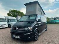 VOLKSWAGEN VW T5 CAMPERVAN LWB | 2014 | TOILET & SHOWER | POP UP ROOF