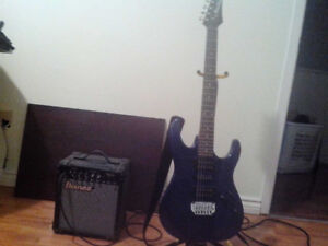 150! IBANEZ GUTAIR AND AMP!