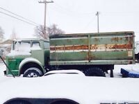 1969 ford econoline grain truck 13ft box