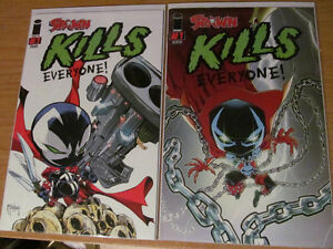 Spawn Kills Everyone #1 & all Variants & 2nd Print & 3rd Print