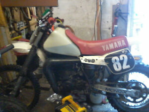Yamaha yz490 big bore 2 stroke