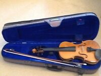 Stentor II child's violin, 1/4 size, very good condition