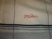 """BRAND NEW MENS LARGE COTTON """"JIMMY CONNORS"""" GOLF T SHIRT"""