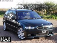 BMW E46 330d M Sport Touring, Auto, 79k Miles, 1 Lady Owner, 2003, Oxford Green