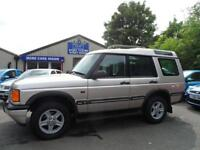 2001 LAND ROVER DISCOVERY 2.5 TD5 GS AUTO ONE OWNER TWIN SUNROOFS SERVICE HISTOR