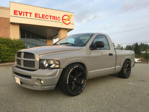 2004 dodge 1500 reg cab lowered custom grey Fast