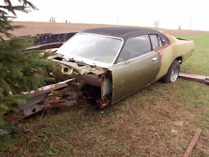 Dodge Charger 73-74 Restauration Project
