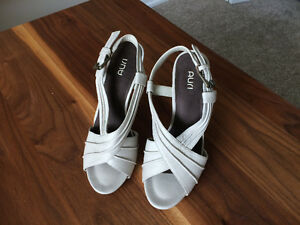 Nude high heel sandal