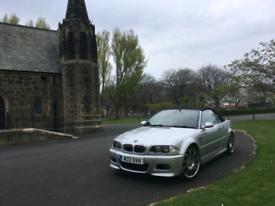 BMW M3 E46 Convertible Manual 2005
