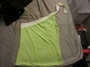 Lime green off the shoulder top London Ontario image 1