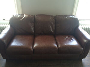 Leather Couch Great Condition