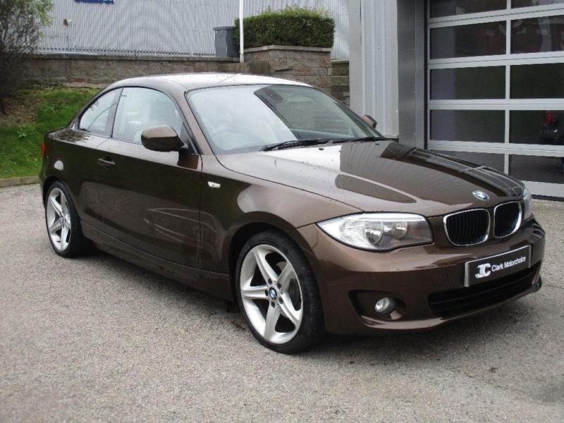 2011 BMW 1 Series 20 118d Sport 2dr Diesel brown Manual  in
