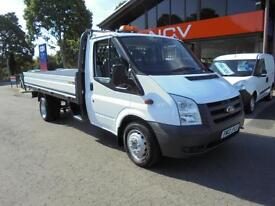 2012 FORD TRANSIT EXTENDED DROPSIDE WITH TACHO