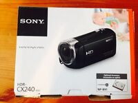 Sony camcorder BRAND NEW HDR-CX240 full HD