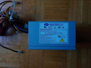 ATX power supply and power cord
