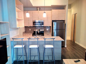 BEAUTIFUL FURNISHED 1BEDROOM+DEN CONDO