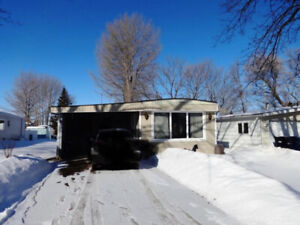 Home for rent in Dauphin, MB (includes water)
