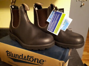 Blundstone Boots: New with Tags/box. Women's Size 8 Stout Brown.