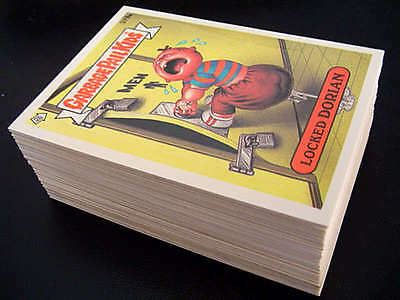 GARBAGE PAIL KIDS 10th SERIES COMPLETE 86 CARD VARIATION SET + FREE WRAPPER 1987